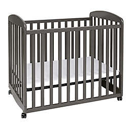 DaVinci Alpha Mini Rocking Crib in Slate