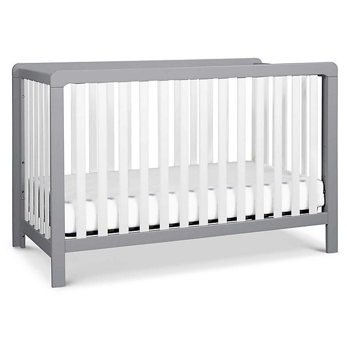 Alternate image 1 for carter's® by DaVinci® Colby 4-in-1 Convertible Crib in Grey/White