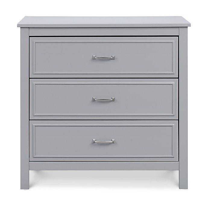 Alternate image 1 for DaVinci Charlie 3-Drawer Dresser in Grey