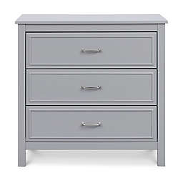 DaVinci Charlie 3-Drawer Dresser in Grey