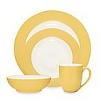 Noritake® Colorwave Rim 4-Piece Place Setting in Mustard