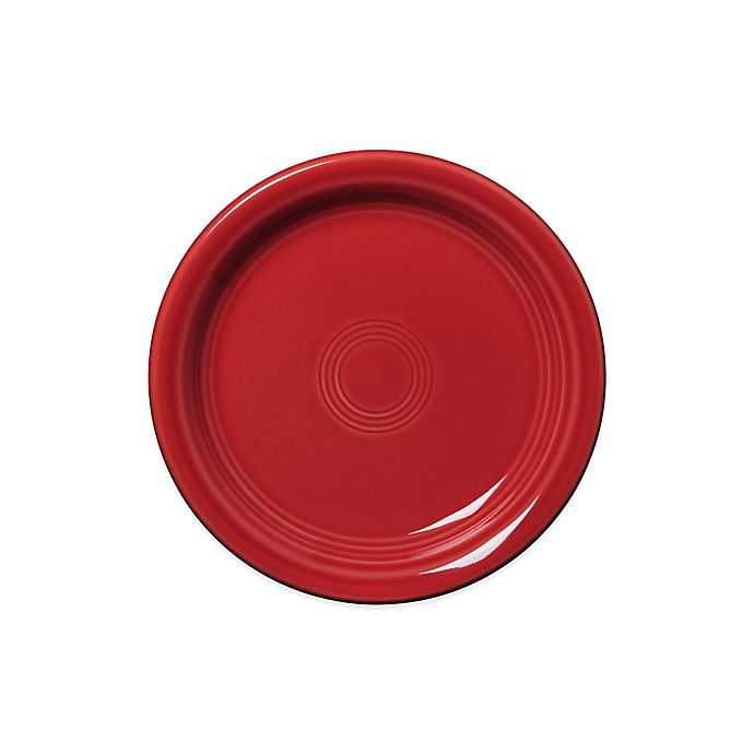 Alternate image 1 for Fiesta® Appetizer Plate in Scarlet