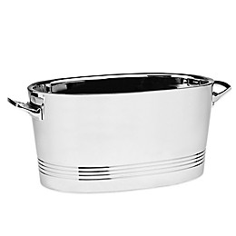 Top Shelf Stainless Steel Double-Wall Cocktail Party Tub