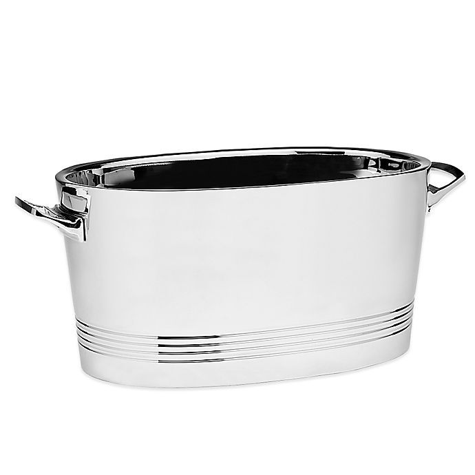 Alternate image 1 for Top Shelf Stainless Steel Double-Wall Cocktail Party Tub