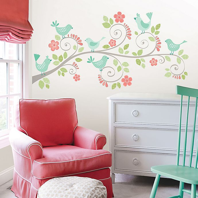 Kitchen Wall Decor Bed Bath And Beyond: WallPops!® Pretty Tweet Wall Decal Kit