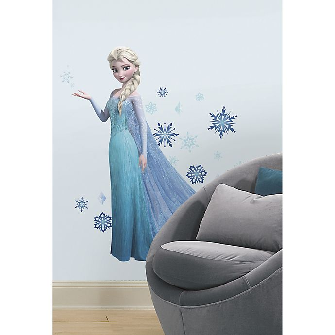 Alternate image 1 for Disney® RoomMates Peel & Stick Giant Wall Decals in Elsa
