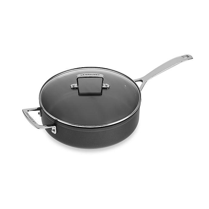 Alternate image 1 for Le Creuset® Toughened Nonstick 4.5 qt. Covered Sauté Pan