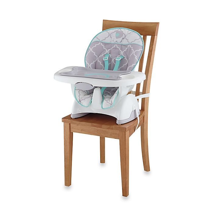 Alternate image 1 for Fisher-Price® Deluxe SpaceSaver High Chair in Safari Dreams