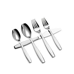 Gourmet Settings Non-Stop 20-Piece Flatware Set
