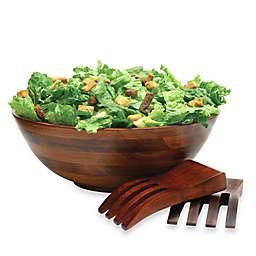 Lipper Cherry Wood 3-Piece Salad Serving Set