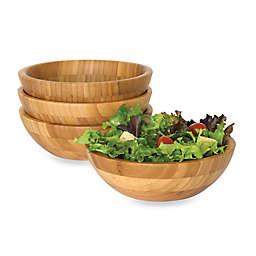 Lipper International Bamboo Salad Bowls (Set of 4)