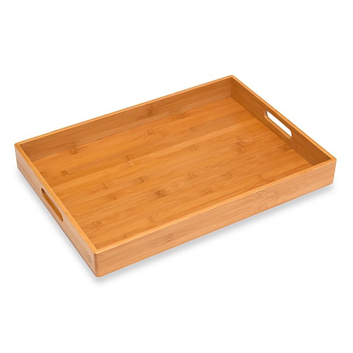 Alternate image 1 for Lipper International Solid Bamboo Tray