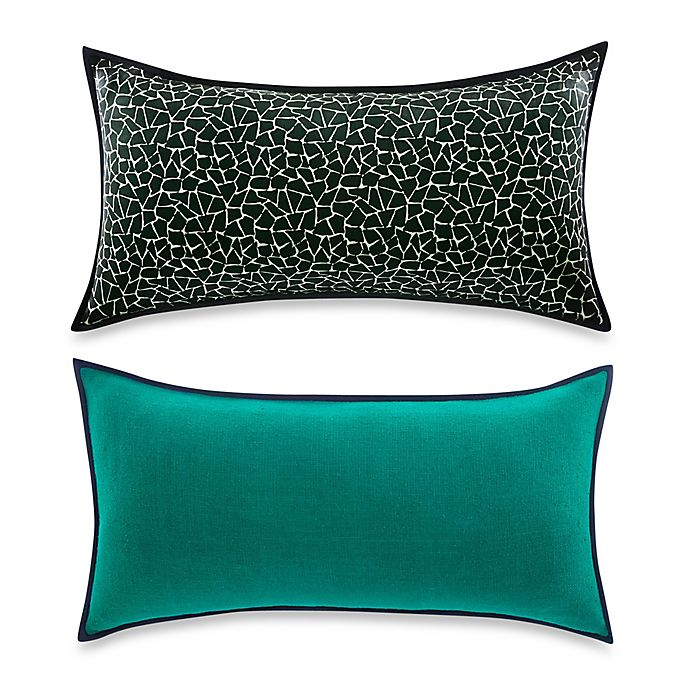Vince Camuto 174 Devon Signature Reversible Bolster Throw