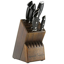 Bob Kramer by Zwilling® J.A. Henckels Euro Carbon 7-Piece Knife Block Set