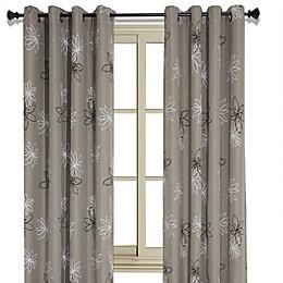 Crawford 126-Inch Grommet Room Darkening Window Curtain Panel