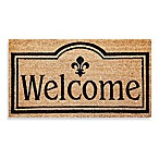 Welcome Coir Door Mat Insert