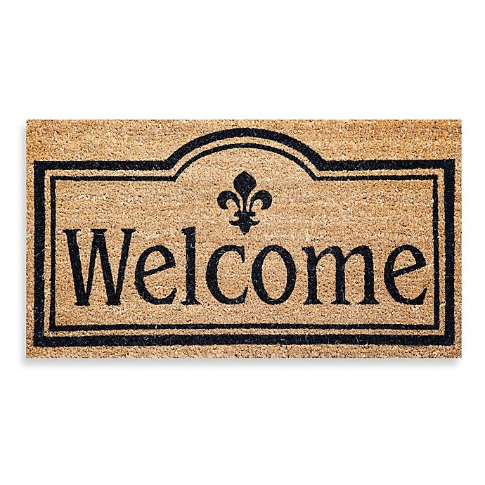 Alternate image 1 for Welcome Coir Door Mat Insert