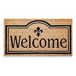 Welcome Coir Door Mat Insert