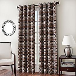 Cadence Chenille Jacquard Window Curtain Panel