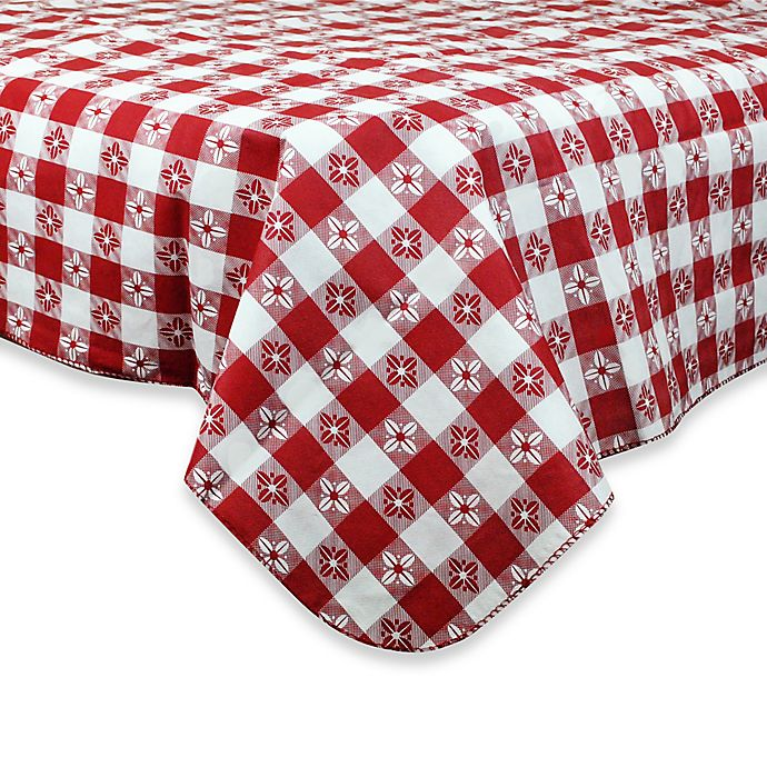 Alternate image 1 for Checkered PEVA Tablecloth
