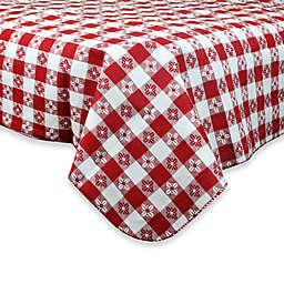 Checkered PEVA Tablecloth