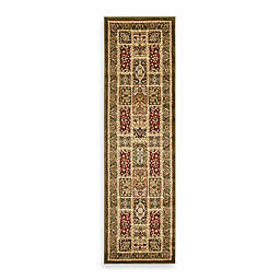 Safavieh Lyndhurst Collection 2-Foot 3-Inch x 14-Foot Patchwork Runner in Light Green