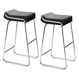Zuo® Modern Wedge Bar Chair (Set of 2)