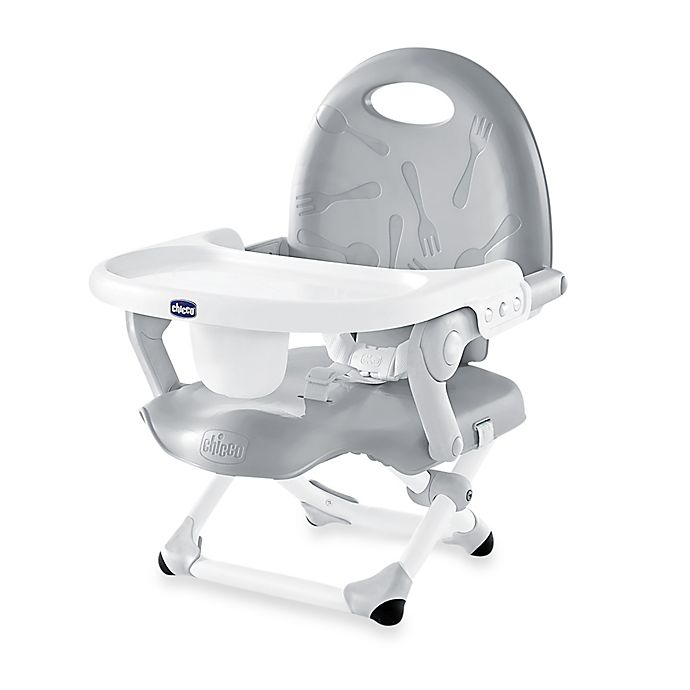 Alternate image 1 for Chicco® Pocket Snack Booster Seat in Grey