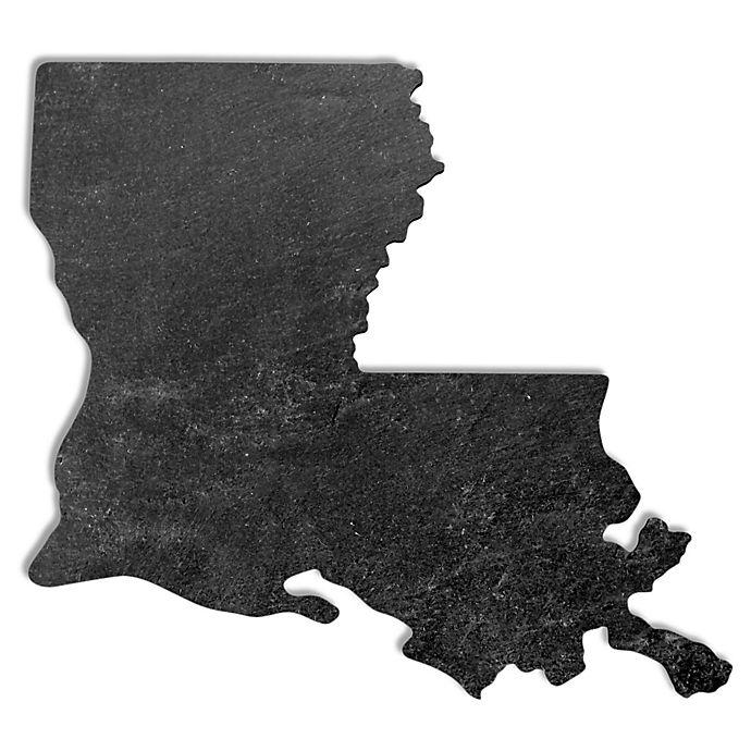 Alternate image 1 for Top Shelf Living Louisiana Slate Cheese Board