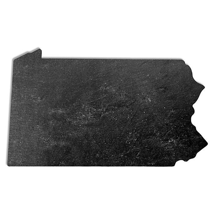 Alternate image 1 for Top Shelf Living Pennsylvania Slate Cheese Board