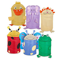 Pop-Up Animal Clothes Hamper