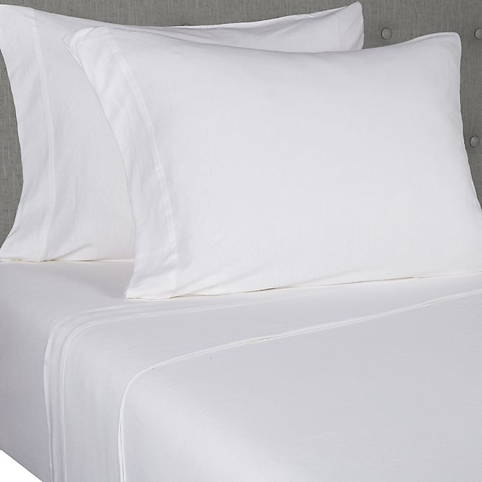 Alternate image 1 for Simply Essential™ Jersey Standard/Queen Pillowcases (Set of 2)