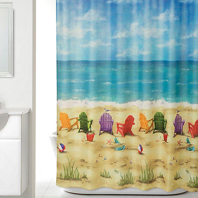 Beach Scene Shower Curtain Bed Bath And Beyond Canada