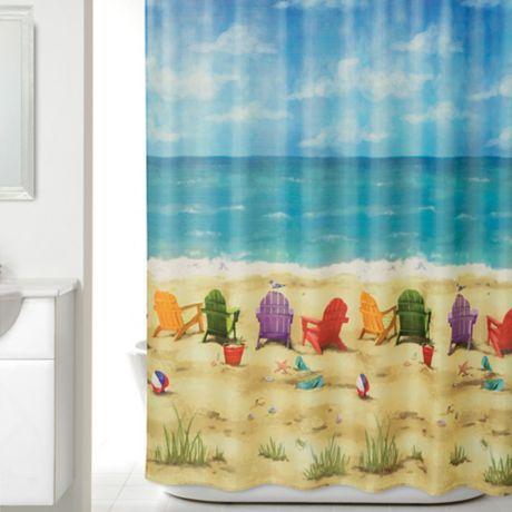 Beach Scene Shower Curtain Bed Bath Amp Beyond