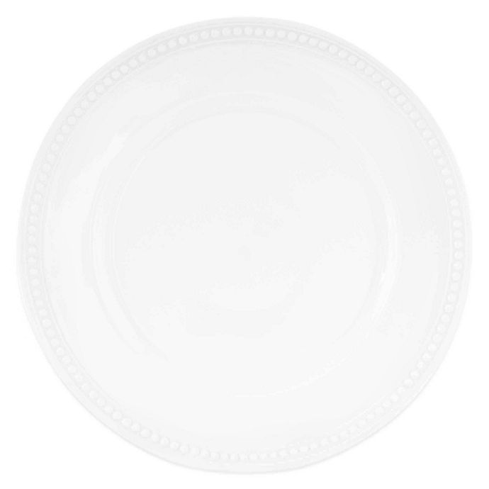 Alternate image 1 for Everyday White®  by Fitz and Floyd® Beaded Dinner Plate