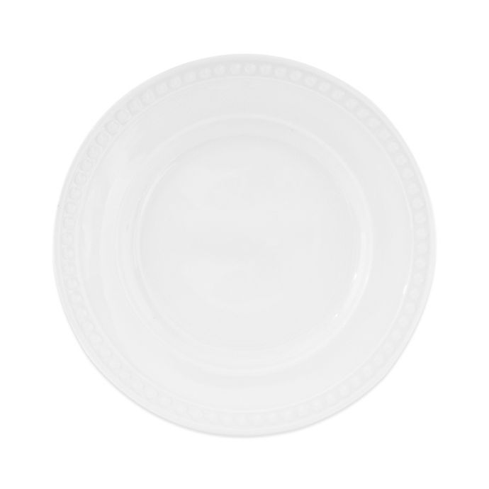 Alternate image 1 for Everyday White®  by Fitz and Floyd® Beaded Salad Plate