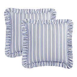 Williamsburg Garden Images European Pillow Sham in Blue