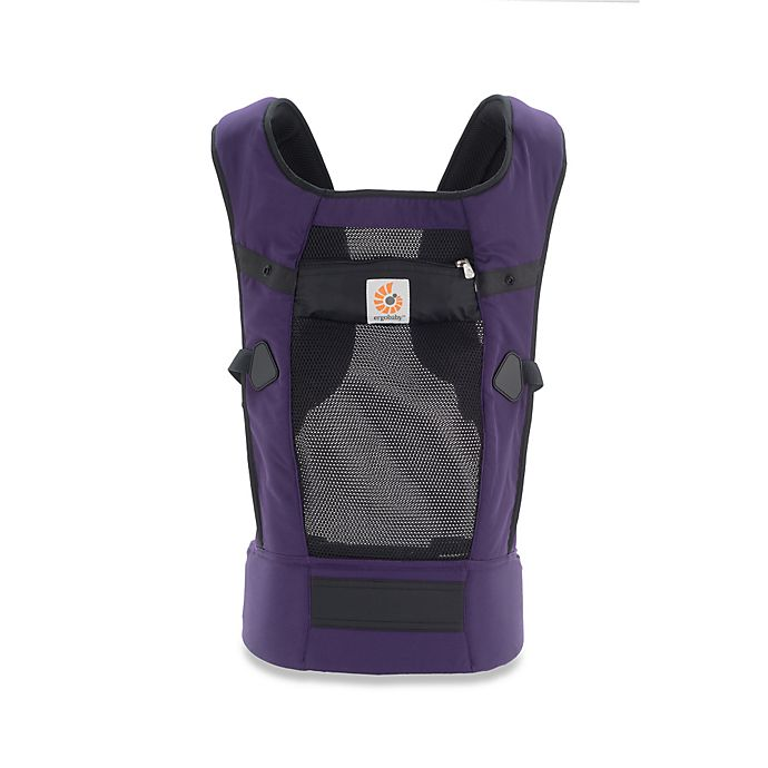 Ergobaby Performance Collection Baby Carrier In Purple Ventus