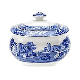 Spode® Blue Italian Covered Sugar Bowl