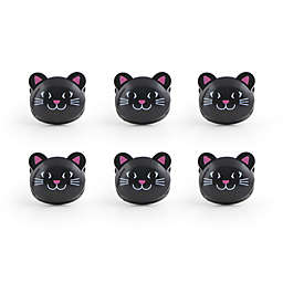 Kikkerland® Design Cat Bag Clip (Set of 6)