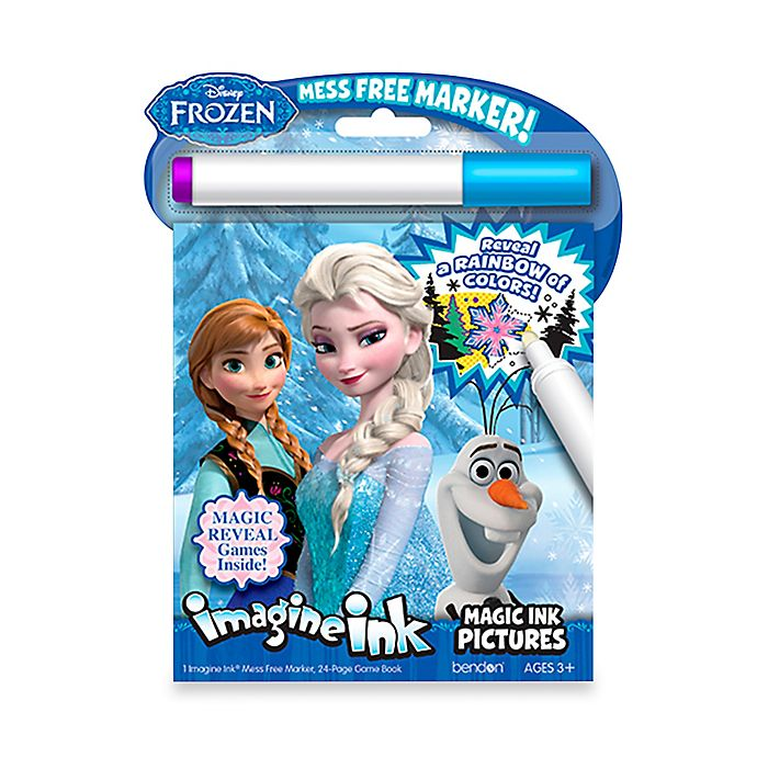 Alternate image 1 for Disney® Frozen Imagine Ink Magic Ink with Marker Activity Book