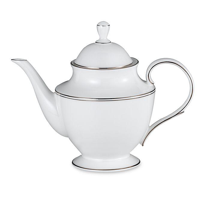 Alternate image 1 for Lenox® Federal Platinum™  Teapot