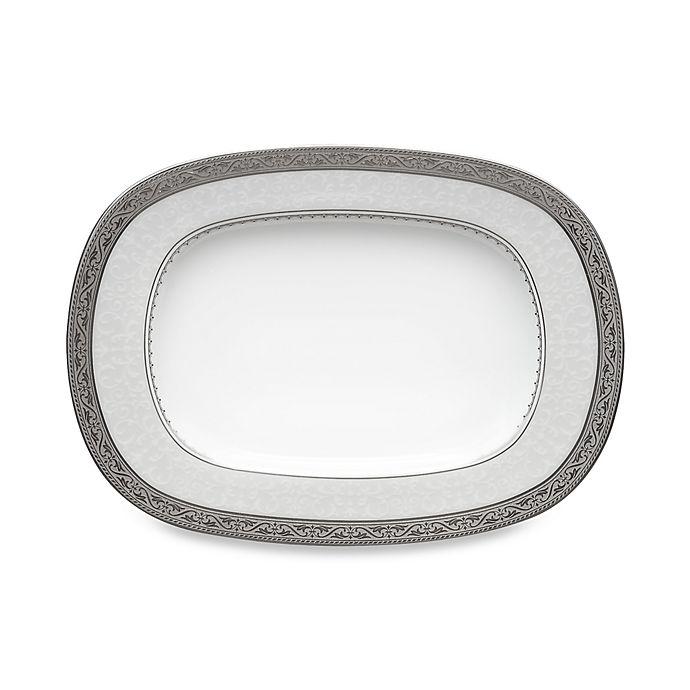 Alternate image 1 for Noritake® Odessa Platinum Butter/Relish Tray