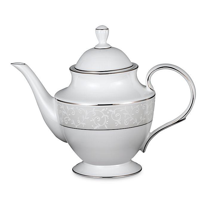 Alternate image 1 for Lenox® Opal Innocence Teapot
