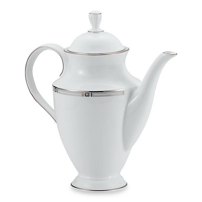 Alternate image 1 for Lenox® Westerly Platinum™ Coffeepot