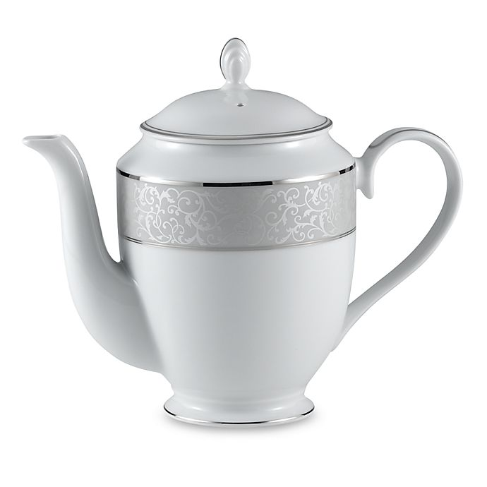 Alternate image 1 for Mikasa® Parchment Coffeepot
