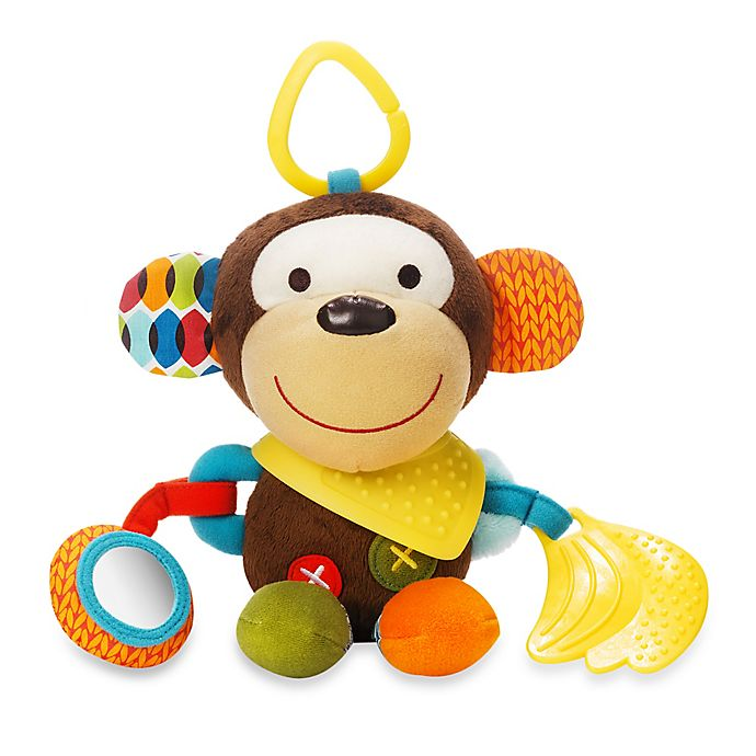 Alternate image 1 for SKIP*HOP® Bandana Buddies Animal Activity Toy in Milo the Monkey