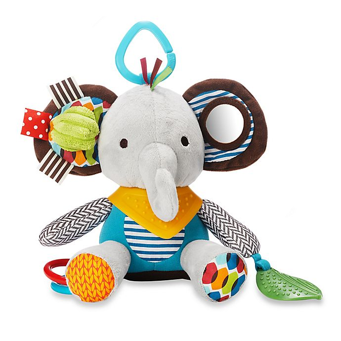 Alternate image 1 for SKIP*HOP® Bandana Buddies Animal Activity Toy in Ellie the Elephant