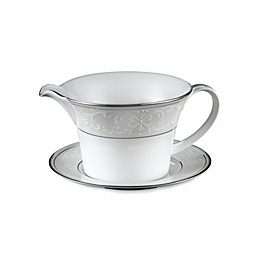 Nikko Pearl Symphony Gravy Boat with Stand
