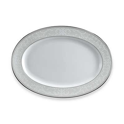 Nikko Pearl Symphony 14.25-Inch Oval Platter